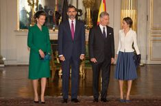 Spanish Royals Visit Brussels