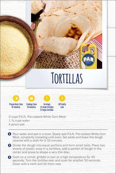 Corn Flour Recipes, Corn Tortilla Recipes, Cornmeal Recipes, Tortilla Pan, White Corn Meal, Venezuelan Food, Gluten Free Biscuits, Foods With Gluten, Special Recipes