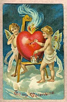 antique v-day card from wiki