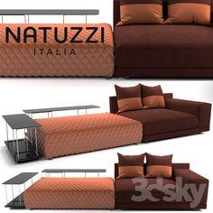 Natuzzi Melpot sectional №1 Modern Sofa, Living Room, Interior Design, Metal, Pattern, Furniture, Home Decor, Couches, Trendy Tree