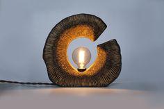 """KORA. Лампа """"Поле"""" — из дерева ручной работы."""