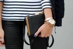 Stripes - black - jewels