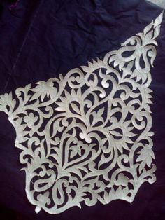 My embroidery cutwork