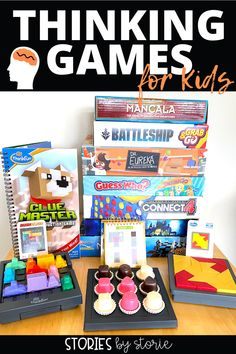 When kids play logic or strategy games, they are developing critical thinking skills. They find patterns, predict outcomes, and make on-the-spot decisions. This is great exercise for the brain. Here are some of our favorite games that build thinking skills. Many of these games could be used in the classroom, too!