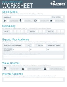 The Ultimate Webinar and Event Promotion Checklist | Worksheets ...