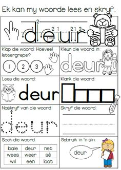 Sigwoordeskat Werksvelle 5 Grade R Worksheets, Preschool Worksheets, Quotes Dream, Life Quotes Love, Education Humor, Kids Education, Napoleon Hill, Robert Kiyosaki, Tony Robbins