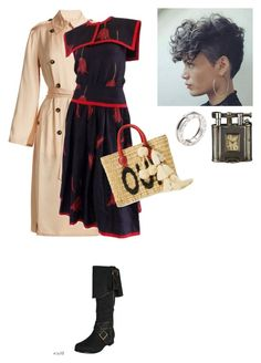 """""""When we first met it was a different time #3"""" by amory-eyre ❤ liked on Polyvore featuring Elizabeth and James, Valentino, Ellie, Misa, Dunhill and Bulgari"""