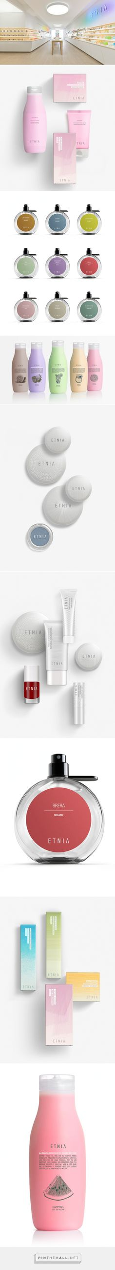 Etnia Cosmetics, un proyecto de diseño global de Lavernia & Cienfuegos not your typical cosmetics #packaging curated by Packaging Diva PD created via http://graffica.info/etnia-cosmetics-lavernia/