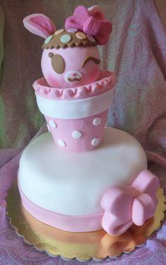 #bunnykawaii #pinkbunny #bunnycake #kawaiicake