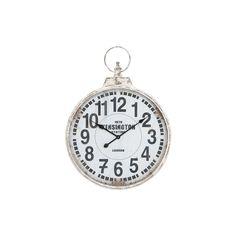 London Vintage Round Clock