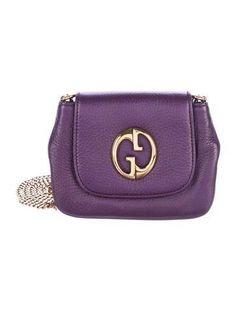 04a6cb7200c #The RealReal - #Gucci Gucci 1973 Small Crossbody Bag - AdoreWe.com