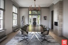 Office Star, Eames, Conference Room, Lounge, Interior Design, Table, Furniture, Leeuwen, Home Decor