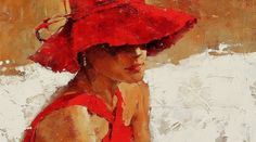 André Kohn is a Russian-born painter whose style is described as figurative impressionist. For biographical notes -in english and italian- by Kohn see: Andre Kohn, 1972 Oil Painting Abstract, Figure Painting, Watercolor Painting, Sweets Art, Beautiful Sketches, Red Art, Animal Paintings, Art Techniques, Art Studios