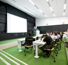 Stephen Hawking Center - Perimeter Institute for Theoretical Physics - Education Snapshots Co Teaching, Theoretical Physics, Living Roofs, Building Section, Design Strategy, Human Mind, Stephen Hawking, Key Design