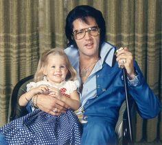 elvis lisa marie presley lisa marie mit ihrem daddy 1971