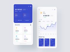 Cryptocurreny App Exploration designed by Soumitro Sobuj 💯🔥 for Team Oreo. Connect with them on Dribbble; Kpi Dashboard, Dashboard Design, Social Media Dashboard, Dashboard Mobile, Mobile App Ui, Mobile Web, Layout Design, Ios App Design, Mobile Ui Design