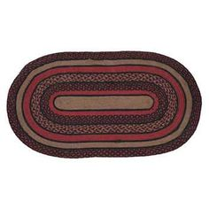 Bingham Jute 60x96 Oval Rug Kitchen Area Rugs, Oval Rugs, Braided Rugs, Jute Rug, All The Colors, Victorian, Baskets, Charcoal, Red