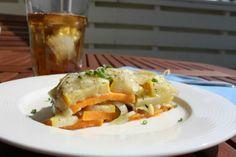 Summer Squash and Potato Torte