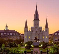 St. Louis Cathedral.  One of the oldest Catholic churches in America.