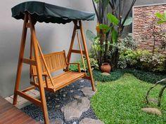 taman rumah minimalis untuk tempat santai