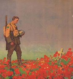 The poppy is how new zealanders remember the soldiers that died saving new zealand at the annual anzac parade on the 25 of april. It is in the morning usally at 5-6 am because thats when they started fighting