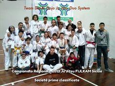 Team Dai-Ki Dojo ju jitsu Duo System. Jiu jitsu Sicilia.