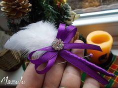 MaZulu / svadobné pierko fialové