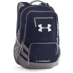 Under Armour® Hustle Midnight Navy Backpack Rucksack Backpack, Laptop Backpack, Black Backpack, Backpack Online, Wrestling Bags, Under Armour Team, Under Armour Backpack, Boys Backpacks, School Backpacks