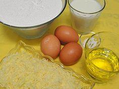 PAn de queso. Ingredientes