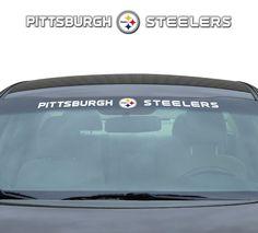 Pittsburgh Steelers 35x4 Windshield Decal