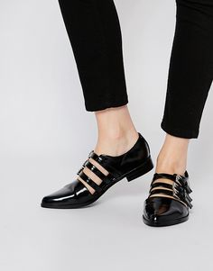 Image 1 of ASOS MAGIC TRICK Flat Shoes