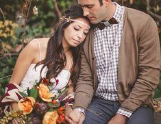 Fall Elopement Inspiration - Wedding Blog