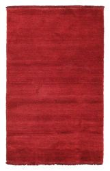 Tappeto Handloom fringes - Rosso scuro CVD5263