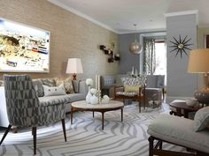 Gorgeous Eclectic Living Room! HGTV's Sarah Richardson --> http://www.hgtv.com/decorating-basics/our-favorite-sarah-101-designs/pictures/page-9.html?soc=pinterest