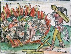 burning of jews