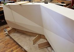 Lobby Feature Wall and Reception Desks | SITU BLOG