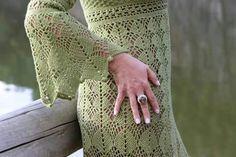 Vestidos finos de croché. Foto de Maria Laisa Sampaio.