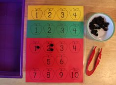 I have added an apple pom pom counting sheet to 1 - 2 - 3 Learn Curriculum. This I will use as a tray activity in my child care. :) Jean 1 - 2 - 3 Learn Curriculum,
