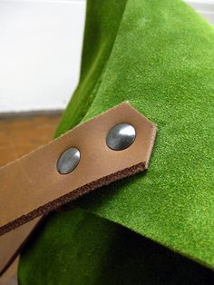 Green Suede - a great shade of green!!!