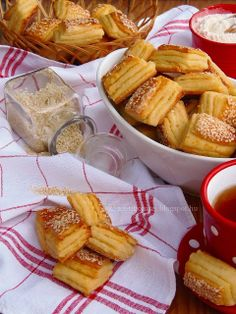 Bread Dough Recipe, Hungarian Recipes, Bread And Pastries, Winter Food, Scones, Baked Goods, Camembert Cheese, Waffles, French Toast