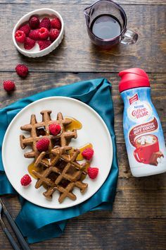 Marshmallow Hot Cocoa Waffles Ingredients 1 ½ cups all-purpose flour ¼ cup granulated sugar 2 teaspoons cocoa powder 2 teaspoons baking powder ½ teaspoon baking soda ½ teaspoon salt 2 large eggs ¾ cup fat free milk ½ cup Marshmallow Hot Cocoa...