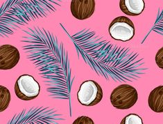 Pattern with coconuts. - Patterns - 1