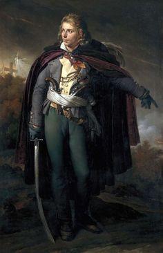 """Jacques Cathelineau (1759-1793), généralissime vendéen """"Le Saint de l'Anjou"""", qui déclencha l'insurrection vendéenne en mars 1793- Anne Louis Girodet de Roucy Trioson 1816"""