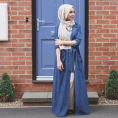 BACK TO SCHOOL LOOKBOOK IS UP  www.youtube.com/nabiilabee  If you want to know where my outfits from head there   @ahmedroy  #ootd #fashionblogger #ukblogger #nabiilabee #modest #hijab #hijabfashion #muslimhijab #hijabmuslim #dustercoat #denim #beescarf