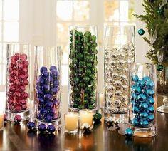 Ideias para uma decoração criativa e diferente para as festas de final de ano.                                                             ...