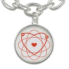 Atom Love Necklace #geek #nerd #giftideas #giftforgeeks #love