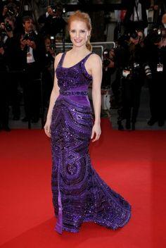 Cannes 2013 - Jessica Chastain; Photo by Keystone Press