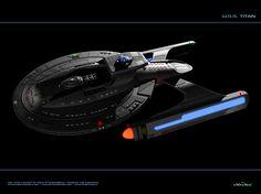 USS Titan by The Animaniac