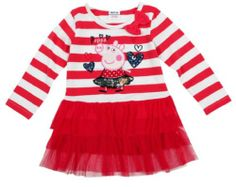 Peppa Pig Peppa Pig Girls Stripe Long Sleeve T-shirt Dress,red,2y Nova http://www.amazon.com/dp/B00JGHNRLW/ref=cm_sw_r_pi_dp_FLmOtb15GKF699AS