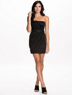 Ax Paris Chiffon Over Lay Jewel Dress